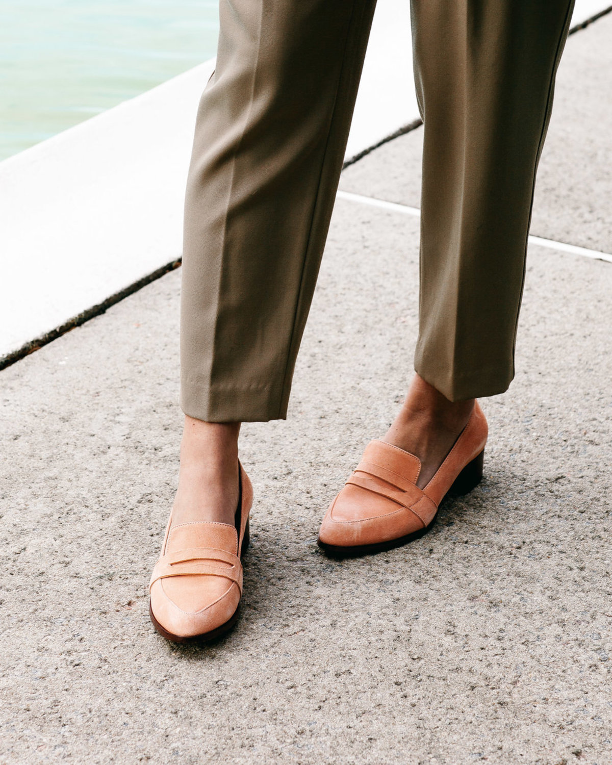 7f3fd3d67a7 Thelma The Penny Loafer - Rosa