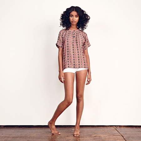 Ace + Jig Booker blouse - twine