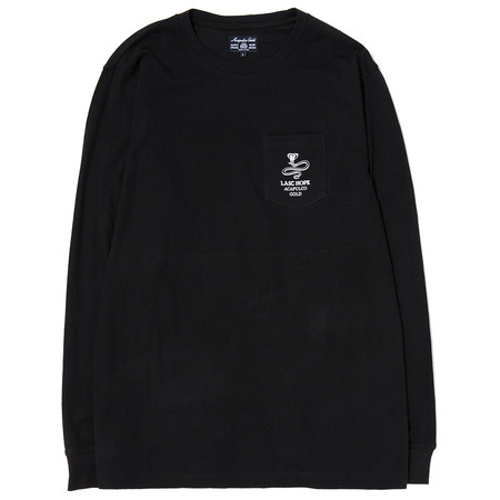 ACAPULCO GOLD LAST HOPE POCKET LONG SLEEVE - BLACK