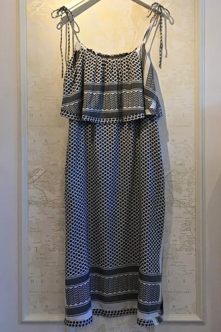 CECILIE copenhagen Ruffle Midi Dress