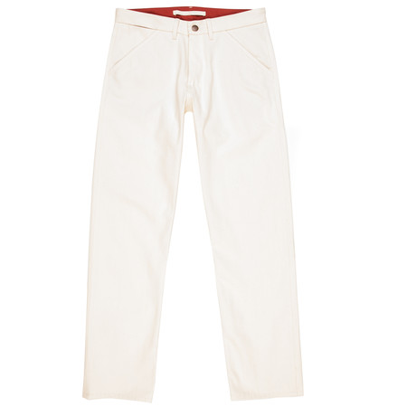 Freenote Cloth Workers Chino Classic Fit—Natural Selvage Denim