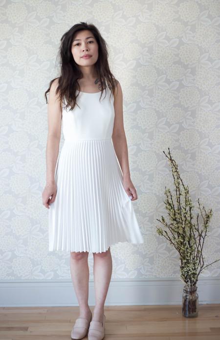 Betina Lou Diane Dress in Ivory