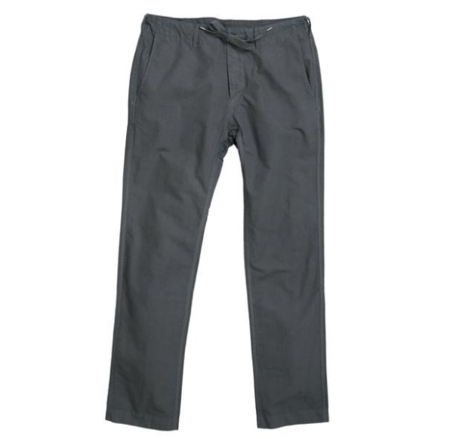 ALEX MILL RIPSTOP DOCK PANT GREY