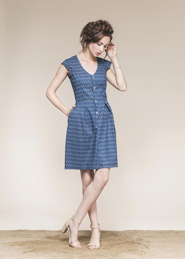 Gaspé Dress by Jennifer Glasgow