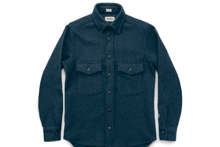 Taylor Stitch Navy Maritime Shirt Jacket