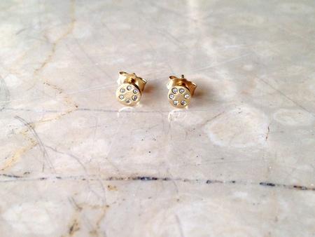 Scosha Lolli Stud Earrings with Diamonds
