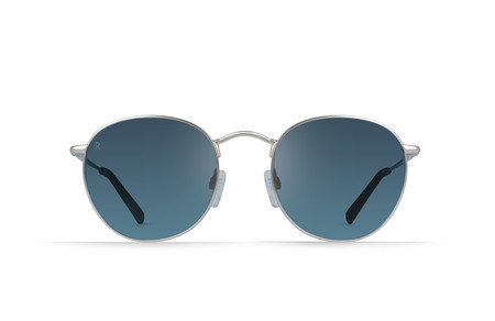 Raen Benson Sunglasses in Silver