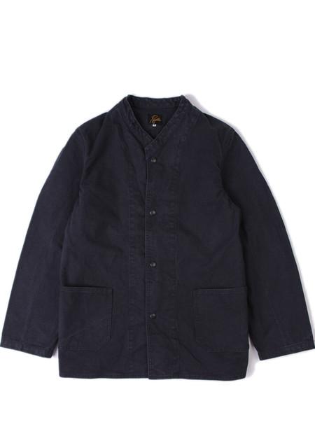 Needles Stand Collar Jacket Duck / Sulfur Dye Black