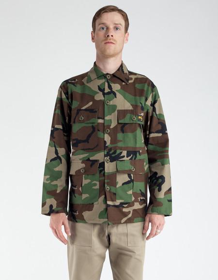 Stan Ray Rip Stop 4 Pocket Jacket Woodland Camo