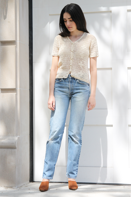 DUO NYC Vintage | CROCHET KNIT TOP