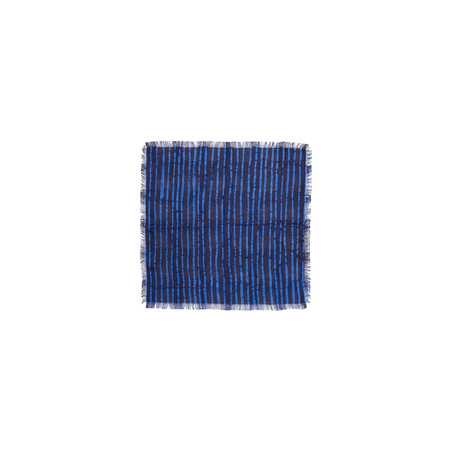 Post-Imperial Broken Stripe Pocket Square
