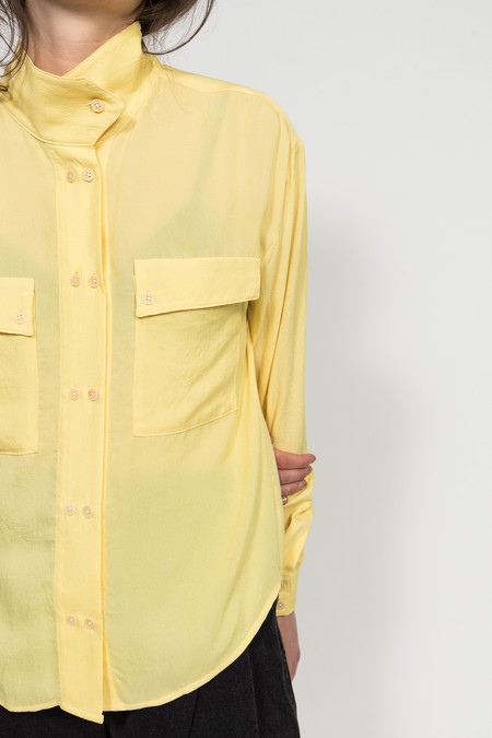 Maryam Nassir Zadeh Fuortevent Button Up