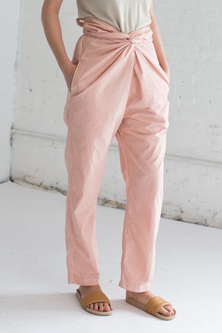 Cosmic Wonder Wrapped Pants in Pink
