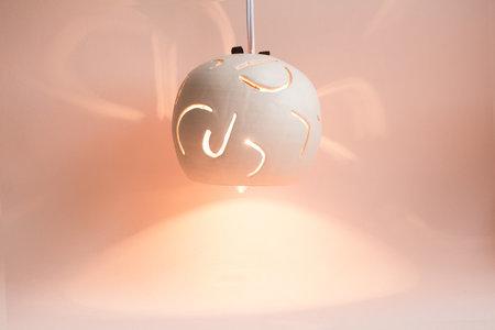 YYY Peach Cut Out Pendant Lamp