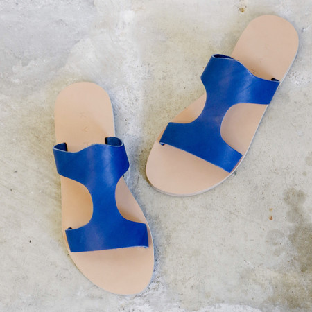 Kyma Santorini Sandals in Marine
