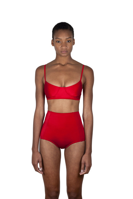 Minnow Bathers Shayne Bottomd - Red
