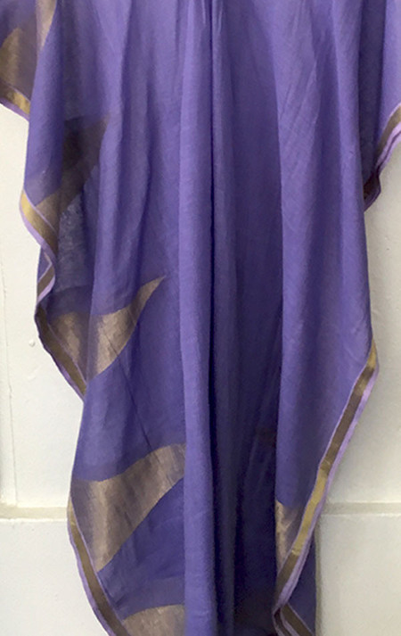 Two Lavender triangle caftan