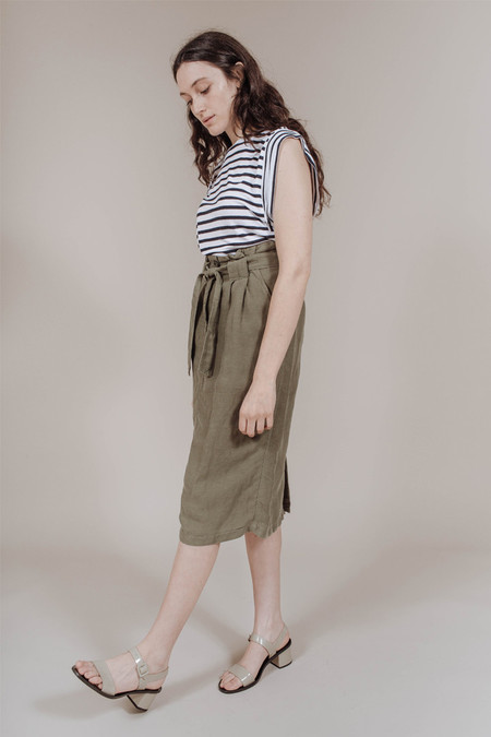 Nico Nico Lily Skirt in Palm