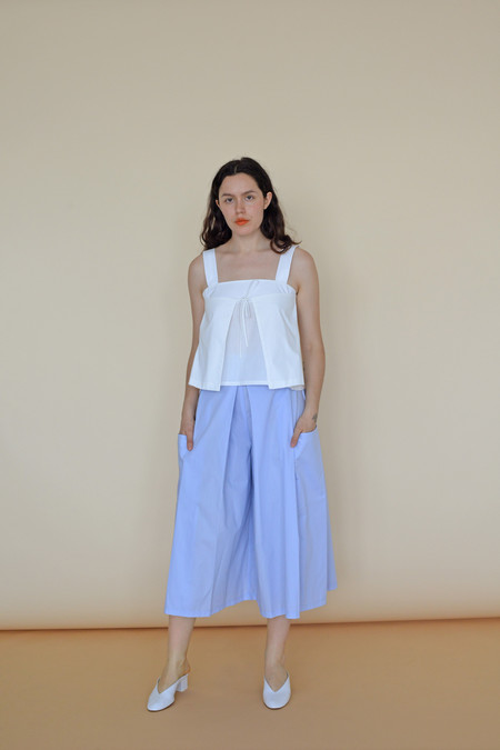 Wolcott : Takemoto Cotton Carol Tank in White