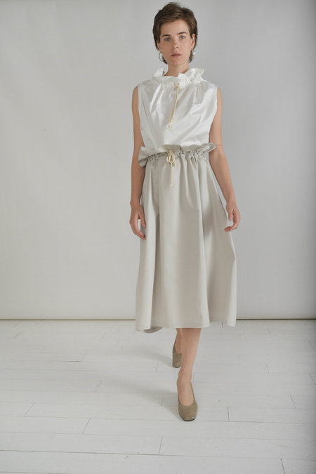 Desiree Klein Oriole Skirt in Parchment