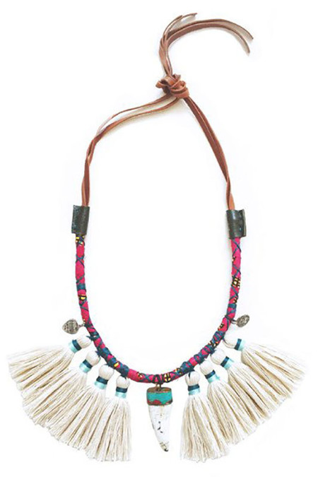 Gaia Empowered Women Zulu Necklace