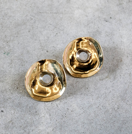 Ariana Boussard-Reifel Rosa Earrings in Brass