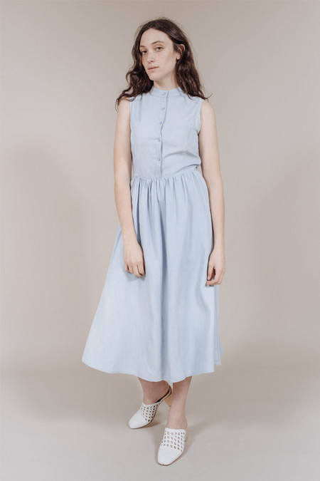 7115 by Szeki Princess Dress in Indigo