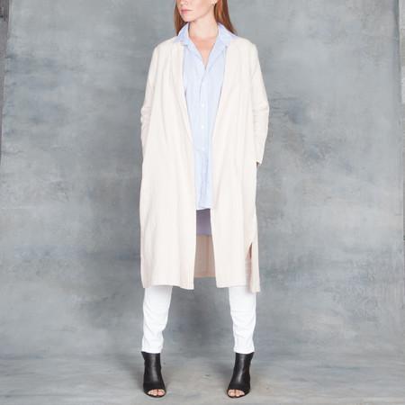 Ali Golden Linen Blush Notch Jacket