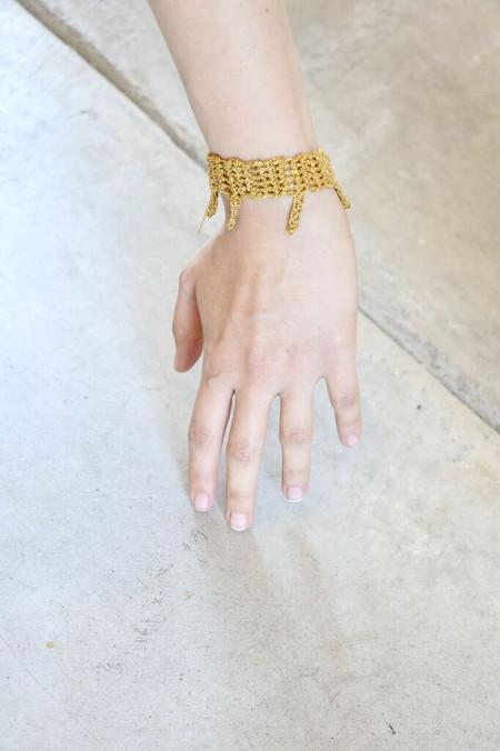 Arielle De Pinto Dingler Bracelet in Gold