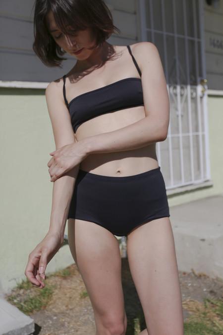 Baserange Kinch Swim Pants in Black
