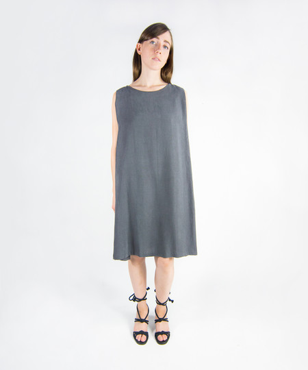 Kaarem Clouds Side Pleated Dress