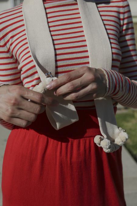 A Détacher Audrey Scarf in Cream