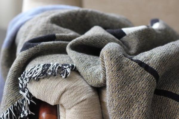 Hannah Ruth Levi Aquarius Throw Blanket