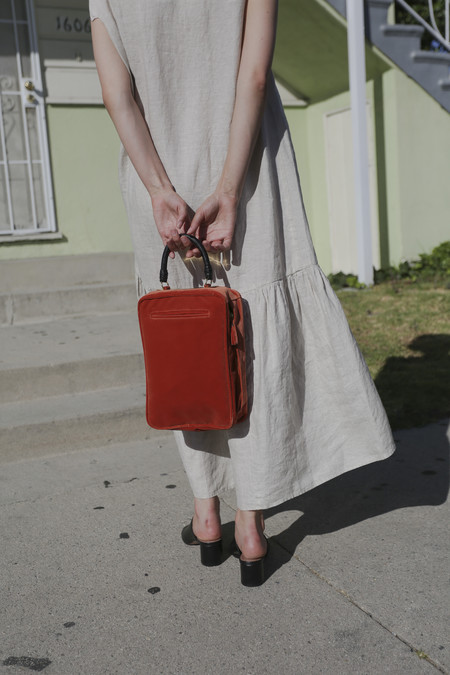 Rachel Comey Olten Bag in Salmon Velvet