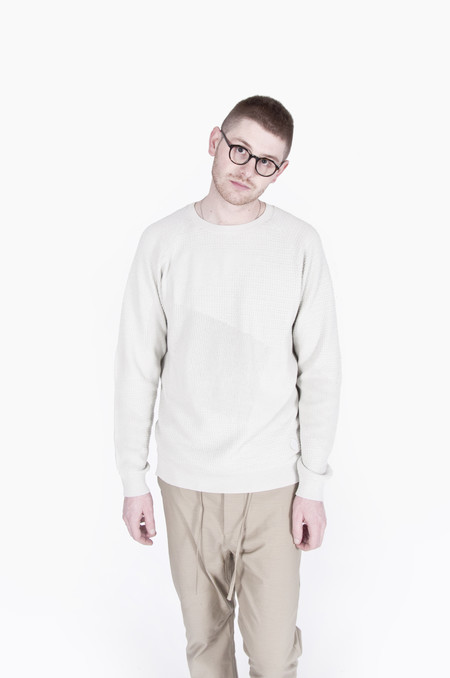 Adidas Wings + Horns Patch Knit Long Sleeve Hint Fog