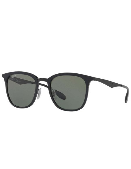Ray-Ban Injected Sunglasses Black Green Classic