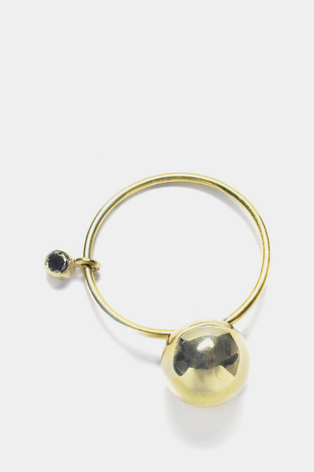 Sara Lasry 18K Gold Ball Toy Ring