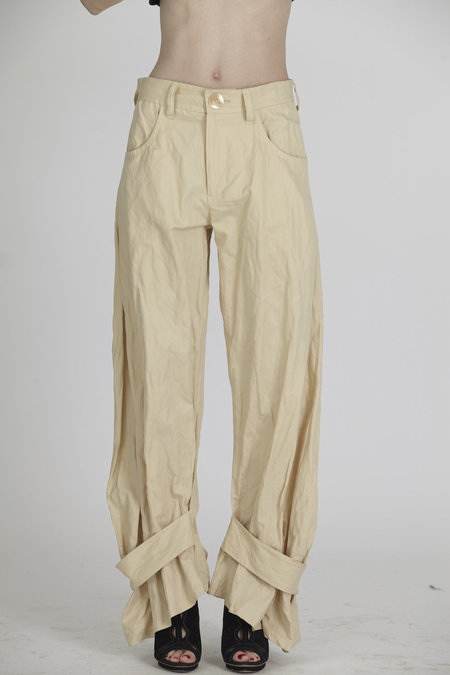 Urbanovitch Cuffed Wrinkle Trouser