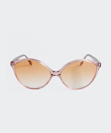 Prism Istanbul Sunglasses - Translucent Rouge