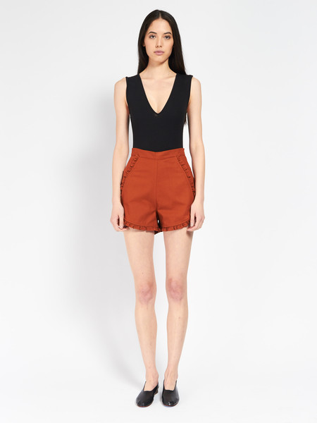 Samantha Pleet Floweret Shorts