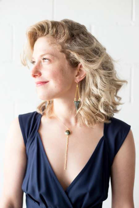 Sarah Mulder Reckless Necklace - Short, Gold