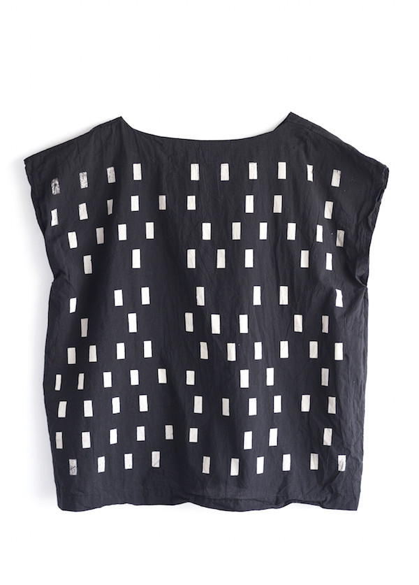 Uzi Disco Tunic | Black