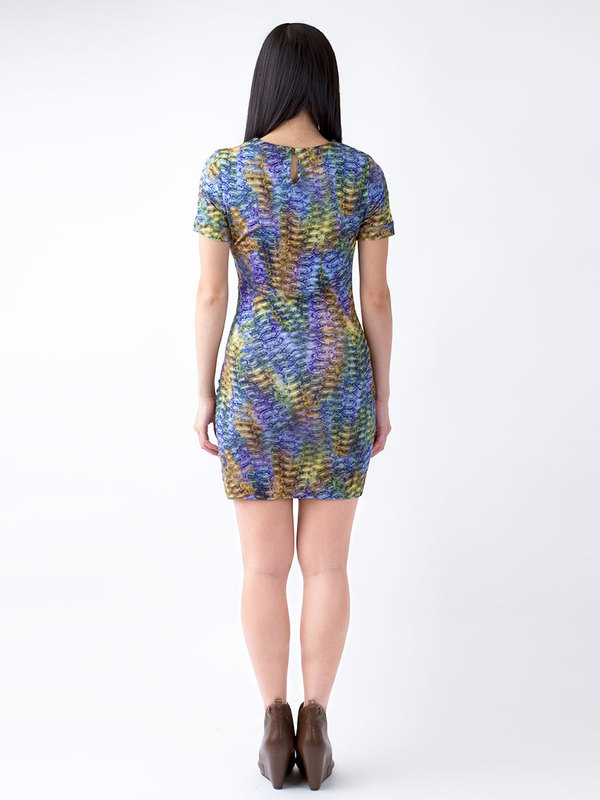 Sasha Ruched Side Dress