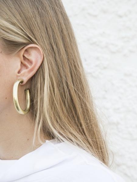 Laura Lombardi Curve Earrings