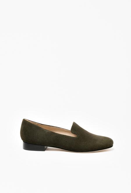 Samuji Loafers- Green