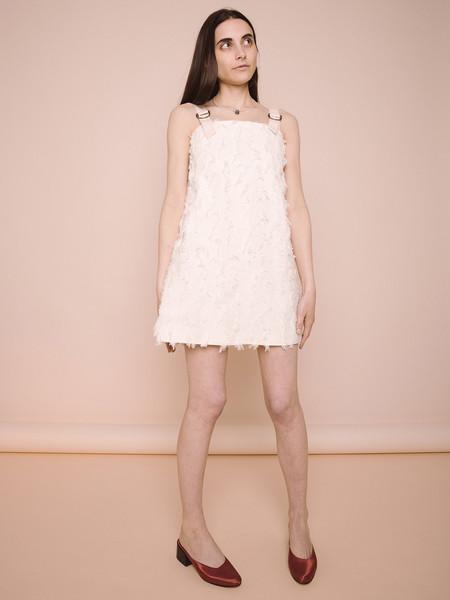 Rachel Antonoff Rayma Fringe Mini Dress