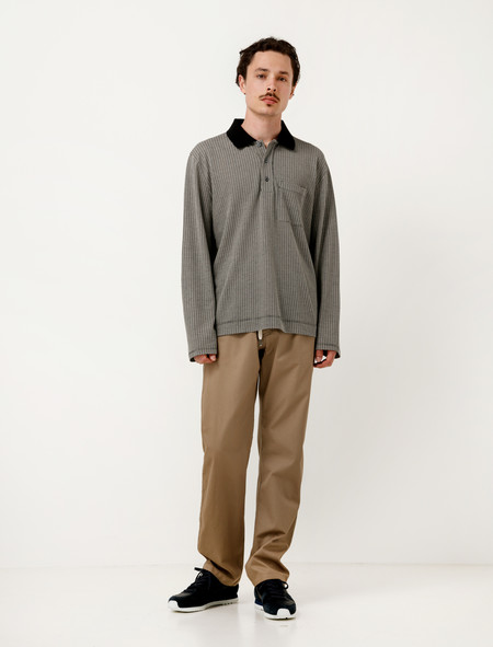 Our Legacy Relaxed Trousers Tan Fine Gabardine