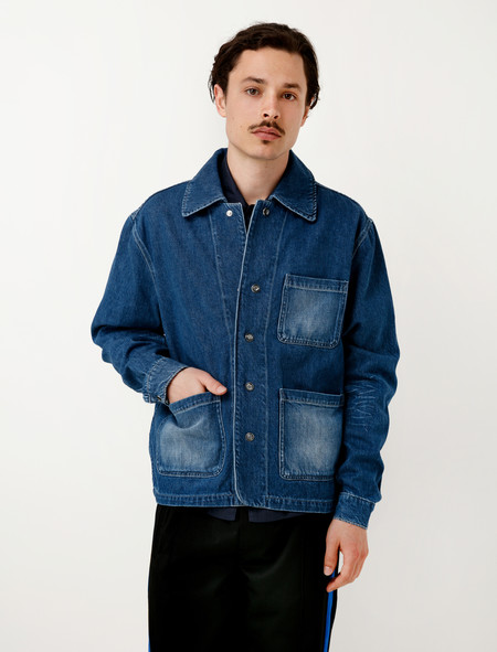 Our Legacy Rodeo Jacket Blue Light Denim