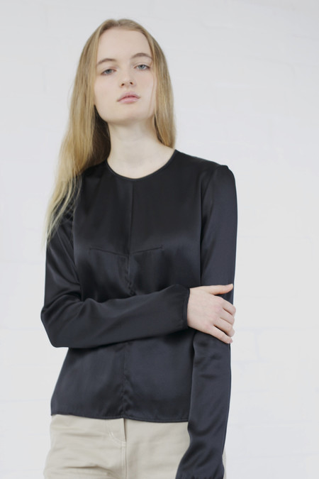 Penny Sage LILY TOP BLACK