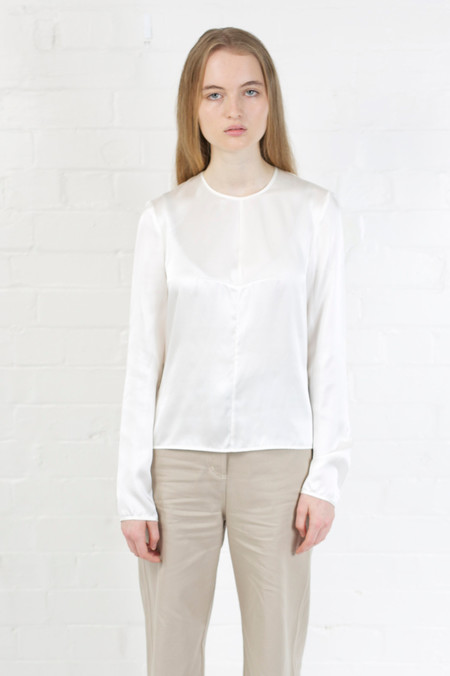 Penny Sage LILY TOP IVORY